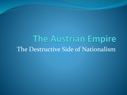 The Austrian Empire