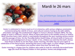 Mardi le 26 mars - Klein Independent School District