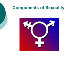 Components of Sexuality - Ms. Kay's Health Class