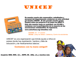 Trick-or-Treat for UNICEF