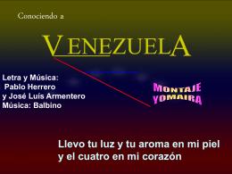 Conociendo VENEZUELA - Inicio
