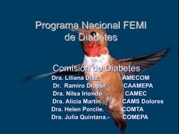 Instituciones FEMI Promotoras de Calidad de Vida