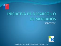 INICIATIVA DE DESARROLLO DE MERCADOS