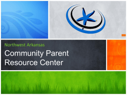 Community Parent Resource Center