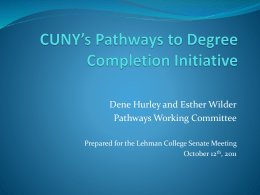 The Pathways Initiative