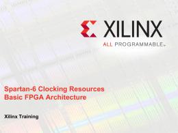Xilinx Template (light) rev