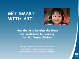Get Smart with Art - VSA Massachusetts