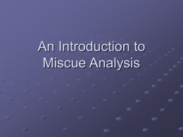 An Introduction to Miscue Analysis