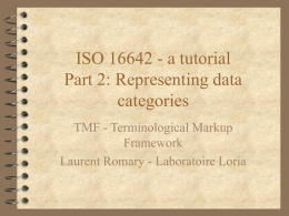 ISO 16642 - TermSciences