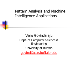 Pattern Analysis & Machine Intelligence