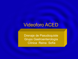Videoforo ACED