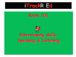 Room 101 - iTrackREd