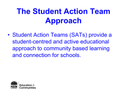 Student Action Team - NSW Public Schools Home Page