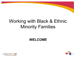 Working with Black Families