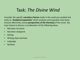 Task: The Divine Wind