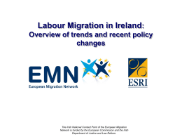 Labour Migration in Ireland: Overview of Trends and …