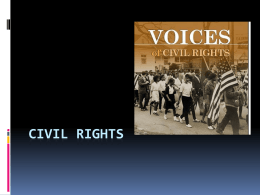 Civil Rights - Southeast Missouri State University