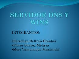 SERVIDOR DNS Y WINS