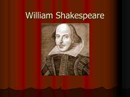 William Shakespeare - Conejo Valley Unified School District
