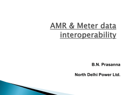 AMR & Meter data interoperability