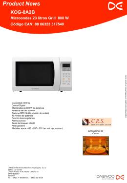 Folie 1 - Daewoo Electronics