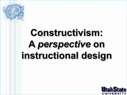 constructivism - Utah State University