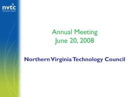 NVTC Associate Forum