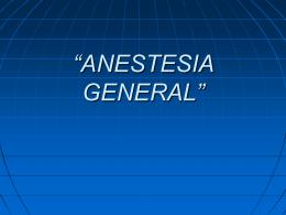 "ANESTESIA"""