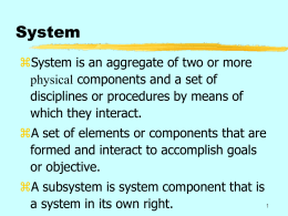 System - Kean University