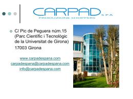 CARPAD SPA - Carpad - Fabricantes de bolsas de papel