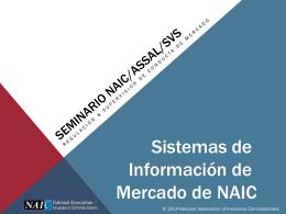 Seminar NAIC/ASSAL/SVS