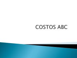 COSTOS ABC - Inka Negocios: inca, inca cusco, cusco