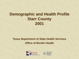 2001_Starr_County_Profile