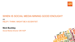 Political Innovation Social Media Mining