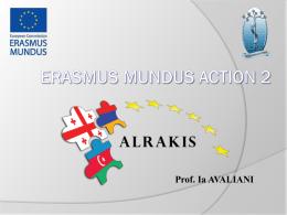 Erasmus Mundus Action 2