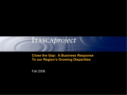 ITASCA PROJECT Quarterly Meeting