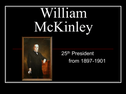 William McKinley - CHSAPUSH