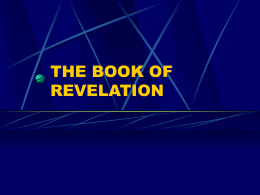 THE BOOK OF REVELATION - Faulkner University