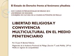 XXII Cursos Internacionales de Verano Ciudad de Melilla …