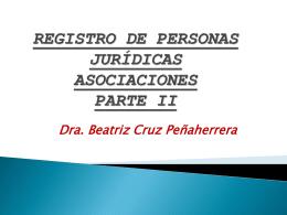 TRIBUNAL REGISTRAL - ::.. CAL ACADEMICA