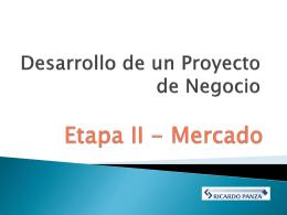 DESARROLLO DE PROYECTO DE NEGOCIOS