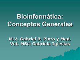 Bioinformatics: from genome data to biological knowledge