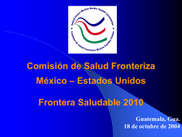 United States-Mexico Border Health Commission