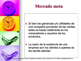 MARKETING ESTRATEGICO - UCB Mail