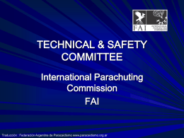 SAFETY & TRAINING FORUM 25 January 2003