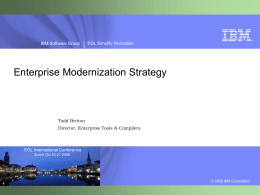 IBM Rational software Presentation best practices