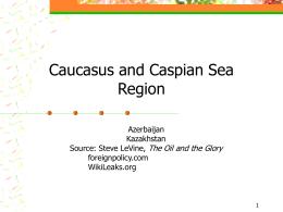 Caucaso e Caspio