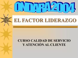 EL FACTOR LIDERAZGO