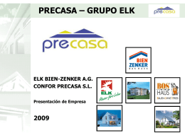 PRECASA – GRUPO ELK - Austrian Business international