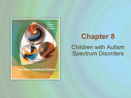 Children with Autism Spectrum Disorders